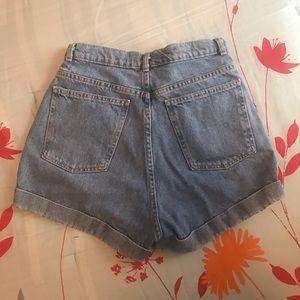 American Apparel Shorts - High waisted denim shorts